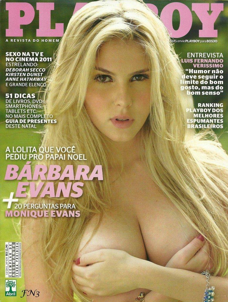 → BÁRBARA EVANS PELADA na Playboy Grátis (Completa)
