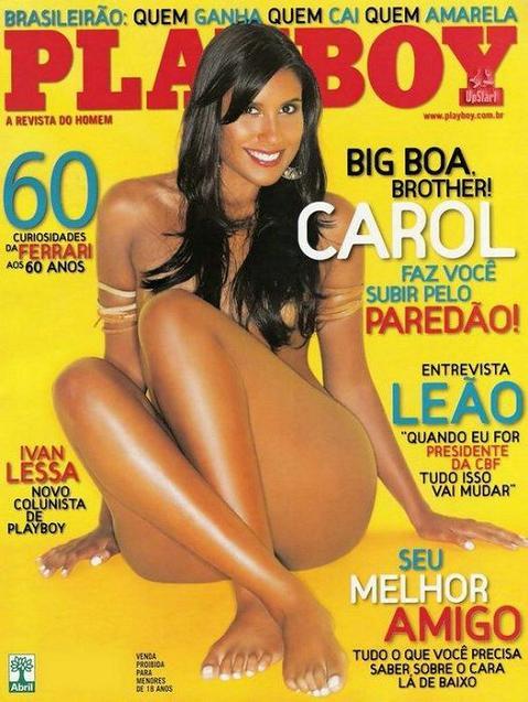 → CAROL EX-BBB PELADA na Playboy Grátis (Morena Gostosa)