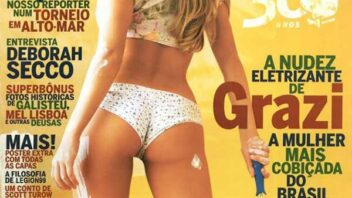 Grazi Massafera Nua na Playboy - Gostosas e Peladas