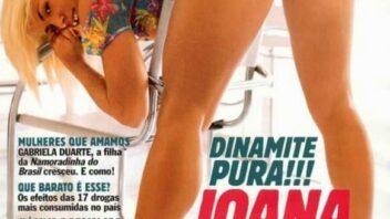 Joana Prado Nua - Joana Prado Pelada Playboy