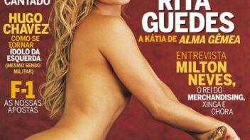 Rita Guedes Nua - Playboy Rita Guedes Pelada