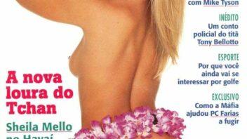 Sheila Mello Nua - Fotos Sheila Mello Pelada Playboy