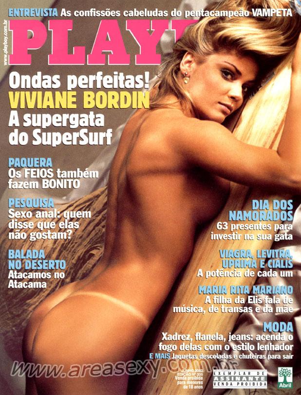 Viviane Bordin Nua Playboy