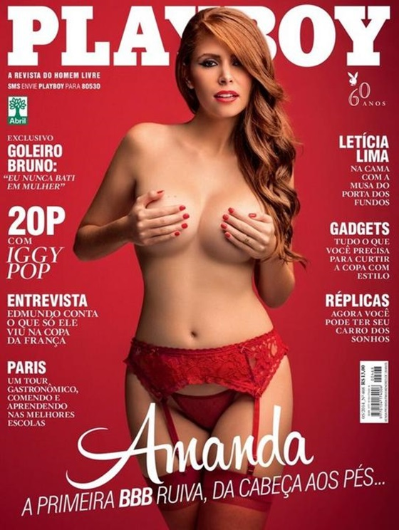 Amanda Gontijo Nua e Pelada