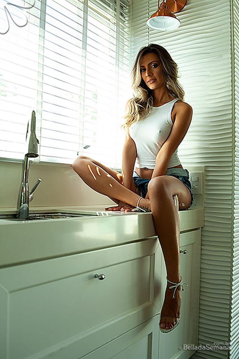 Luanna Lodi Nua e Pelada - Bella da Semana