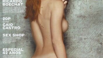 Renata Longaray Nua - Playboy Renata Longaray Pelada