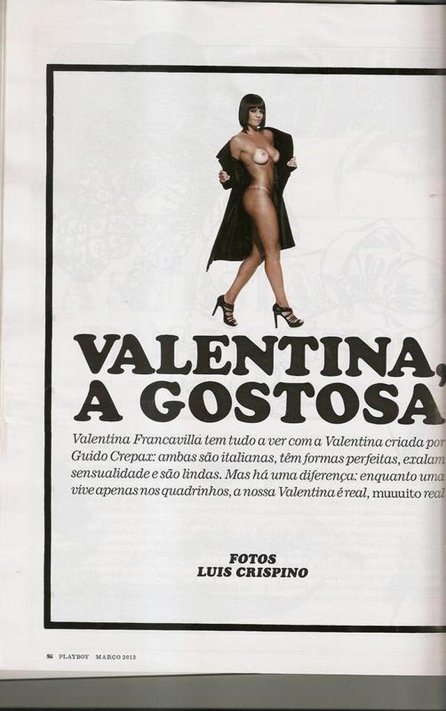 Valentina do Programa do Ratinho Nua e Pelada