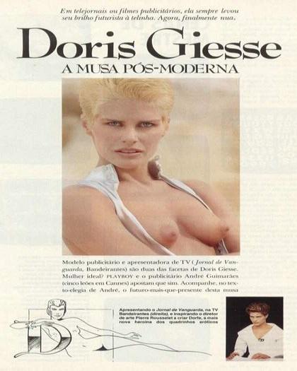 Doris Giesse pelada - Video Doris Giesse Nua